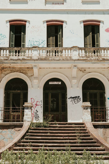 Exterior of old building