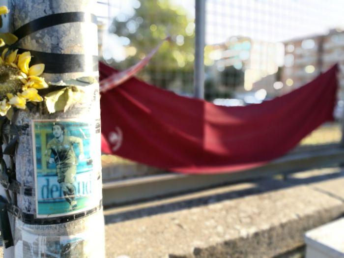 Remembering The Dead Morosini Soccer Player Supporters' Love l Livorno Altare laico