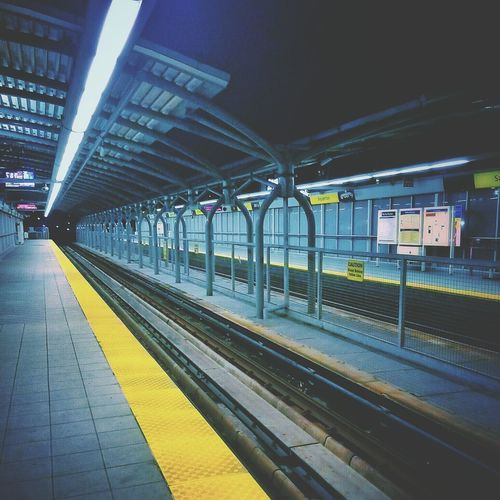 Sometimes its just better to be alone. Whynot Nighttrain Newwestminster