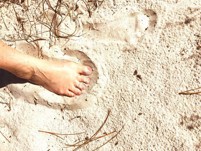 Got My Foot In The Sand @ Dauphin Island