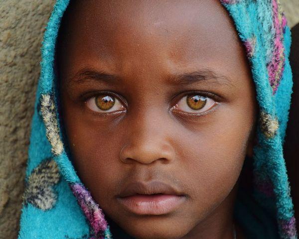 Burunga Uganda Portrait Child Childhood Human Eye Human Face Headshot Looking At Camera Human Head Close-up Eye Eye Color Skin Care This Is My Skin