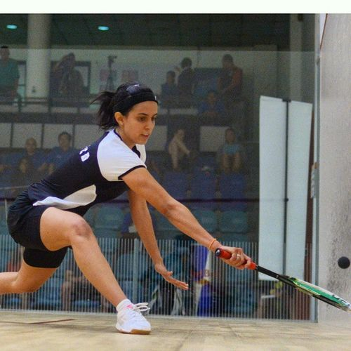 Nour El Tayeb scored one of her biggest wins against Laura Massaro in the second round. Looking to do one better against Madeline Perry later. Squash Sports Sportspix Malaysianopen Cmo2014 NuSentral WSA Nikon