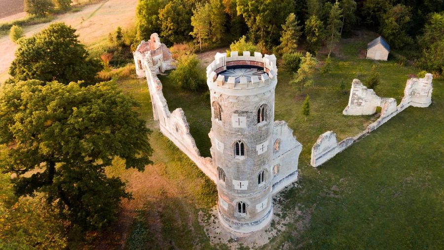 Ancient Monastery Ruins Castle Medieval Ruins Aerial View Aerial Shot Drone  Uk England Monastery Tower History Historic Architecture Ancient Britain British EyeEm Selects Building Historic Building Fort Bell Tower Building Exterior First Eyeem Photo