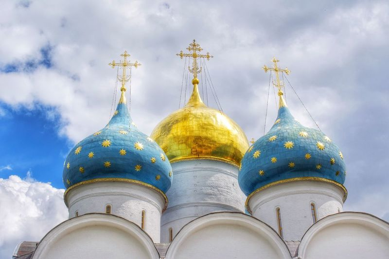 The Holy Trinity-St. Sergius Lavra SSV_Photo_Lab Nikon D5200 Nikonphotography Nikonphotographer Nikon Streetphotography Russia Sergievposad Religious Architecture Religious  Architecture Cloud - Sky Dome Built Structure Sky Building Exterior Religion Spirituality No People Place Of Worship Belief Travel Destinations Low Angle View Building Gold Colored Nature City Day Outdoors Spire  The Great Outdoors - 2018 EyeEm Awards The Traveler - 2018 EyeEm Awards The Architect - 2018 EyeEm Awards The Street Photographer - 2018 EyeEm Awards
