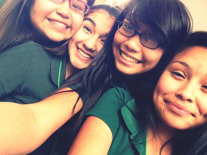 Me ,Ashley,Neri,and Alexis (;