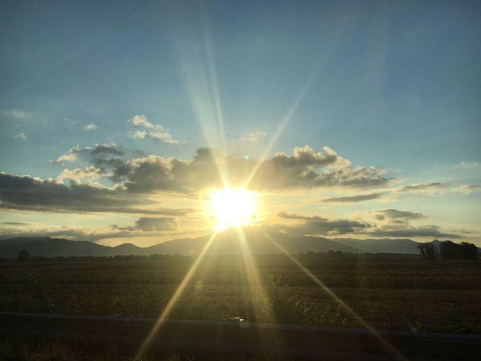 On The Road Sun