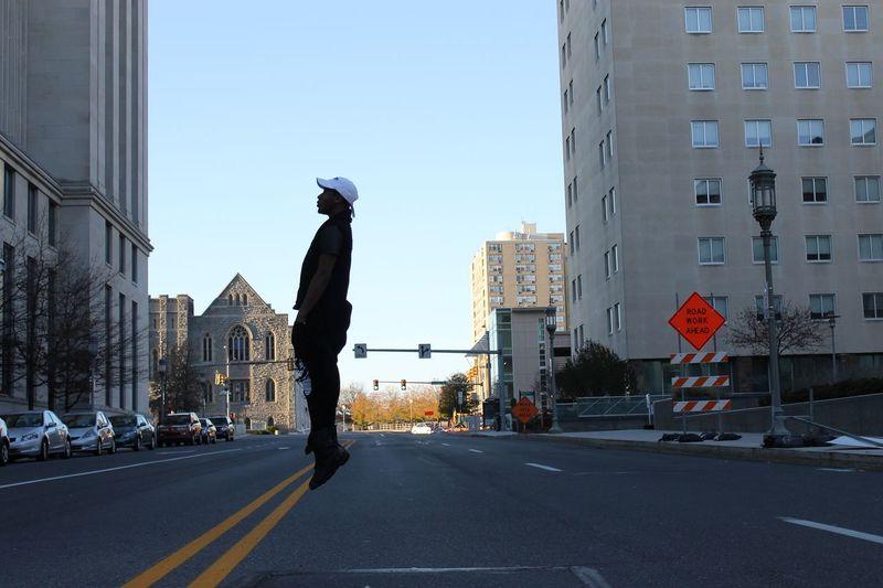 Showcase: November streetstyle Streetphotography Dystopian Streetwear m Urban Lifestyle Fashion Model Jumping Air