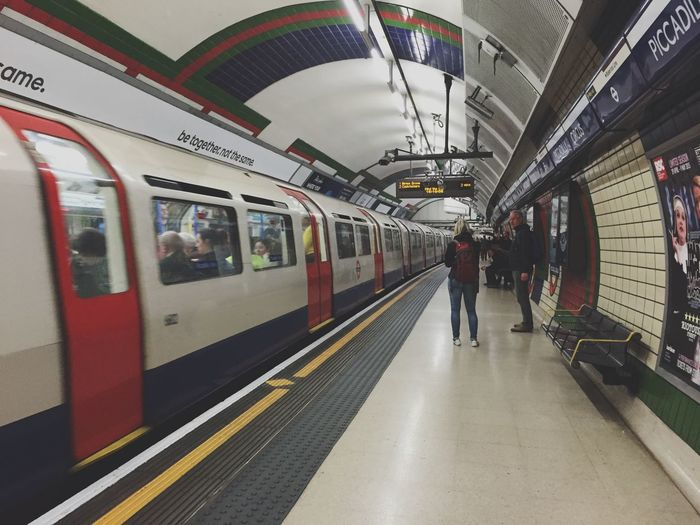 This is a District Line Train Notes From The Underground London Calling Public Transportation Check This Out EyeEm Best Edits Eye4photography  The Street Photographer - 2015 EyeEm Awards The Moment - 2015 EyeEm Awards The Traveler - 2015 EyeEm Awards London Lifestyle EyeEm LOST IN London Postcode Postcards