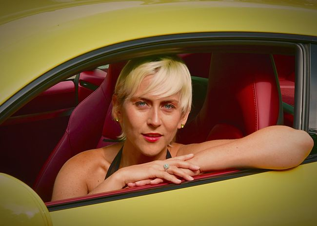 Erica B Car Motor Vehicle Mode Of Transportation Transportation Women One Person Portrait