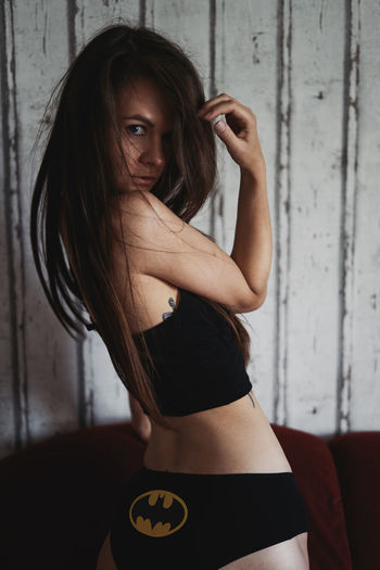 EyeEm Selects Adults Only One Woman Only Only Women Adult One Person Indoors  People Beautiful Woman Young Women Young Adult One Young Woman Only Standing Looking At Camera Portrait Lifestyles Women Beauty Day