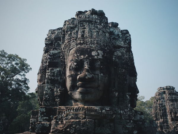 The stone face .Bayon temple ,Angkor Thom. Amazing Amazing Architecture Angkor Thom ASIA Bayon Temple Buddha Hello World History Architecture Stone Face Temple The Journalist Eyem 2016 Awards The Outdoors - 2016 Eyeem Awards The Potraitist - 2016 EyeEm Awards The Traveler-2016 Awards