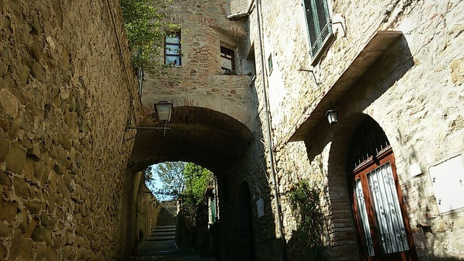 Building Exterior Low Angle View Architecture Arch Day No People Medieval Village Nature Textures Archway Serene Tranquil Outdoors In Castiglione Della Pescaia Tuscany Italy The Street Photography Art Is Everywhere Enjoying The View Break The Mold Out Of The Box Postcode Postcards