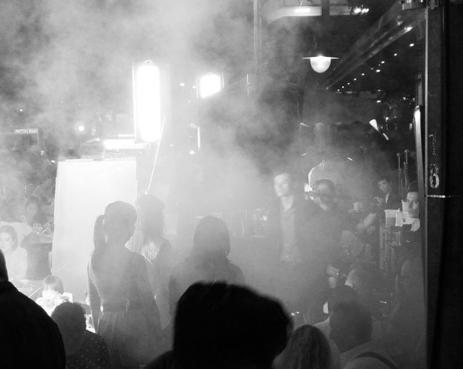 The Neighbourhood: Movie Magic Is A Hazy Thing. Showcase March Black And White Black White Streetphotography Singapore Smoke Abstract ASIA Magic Urban Theneighbourhoodseries Telling Stories Differently