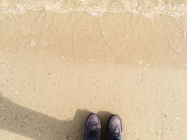 Because the sea is connect to everywhere, that's why I always walking along the sea while I'm missing home :)