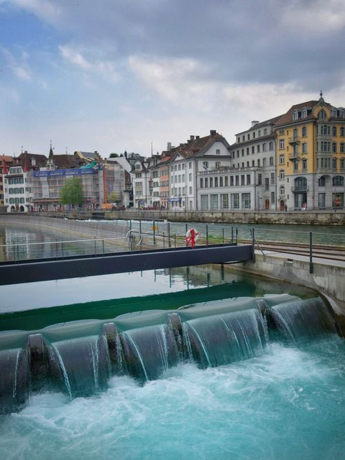 Architecture Built Structure Building Exterior Bridge - Man Made Structure Business Finance And Industry Cloud - Sky Water Cityscape Sky City Politics And Government Outdoors Day Occupation People Blue Lake Luzern Landscape Paniramic View Scenics