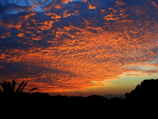 Red clouds in Muchavista. El Campello, Alicante, Spain. EyeEm Nature Lover EyeEm Best Shots Eye4photography  Nature Landscape Sunset Clouds And Sky Light And Shadow Taking Photos Photography
