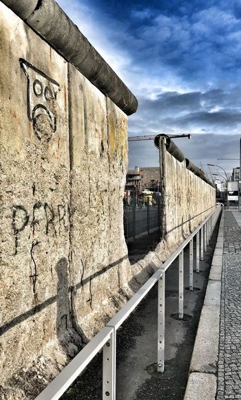 Winter Germany Topografie Des Terrors Berlin Wall Berlin Graffiti Day Outdoors Built Structure Architecture Sky No People EyeEmNewHere The Graphic City #FREIHEITBERLIN