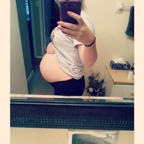 one month from today ❤ september 2, 2014 35weeks5days Onemoremonth 31daystogo Cantwait gettingclose loveyoubabygirl