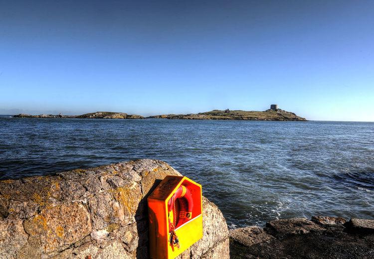 Harbor wall Dalkey Island Dublin Ireland Lifejackets Harbor Wall Harbour Wall Island Safety