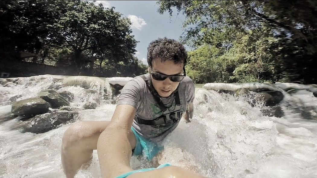 I love water in all forms. River Riverside Gopro Goprooftheday Goprohero4 GoPro Hero3+ GoPrography Water Lifestyles Tree Cold Temperature Dominican Republic Dominican Goprohero Gopro Shots Gopromoment