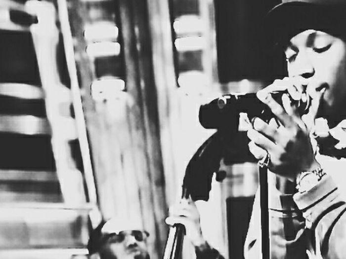 Jan. 20 B4DAMONEY Joey Bada$$ LastNight Jimmyfallon Pro Era HipHop EyeEm Best Shots - Black + White Bw_collection
