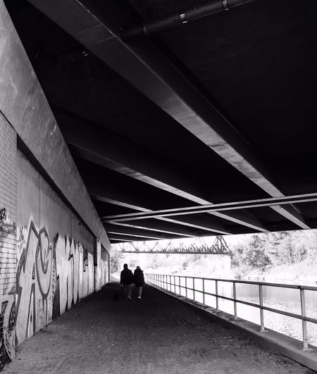 Bridge The Illuminator - 2014 EyeEm Awards Urban Geometry Streetphotography