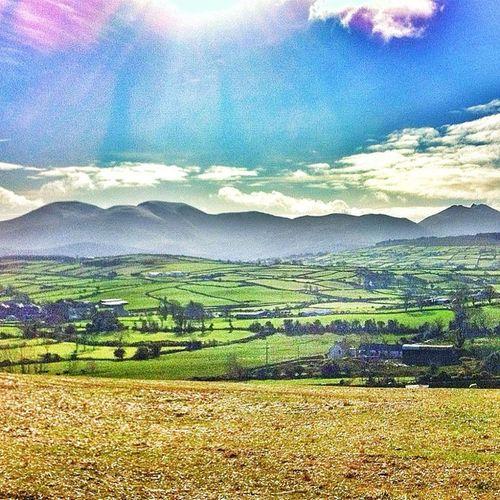 Mourne Mountains Ireland Version 2