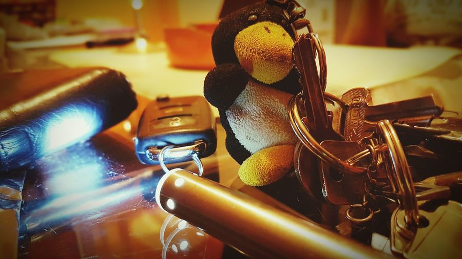 Key, Penguin,