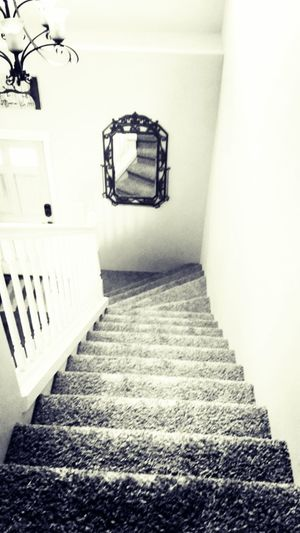 Stairs Black & White Perspectives