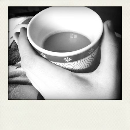 Show Me Your Hand Coffee Goodmorning :) Blackandwhite