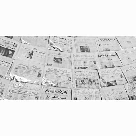 Old Newspaper Vintage Art Newspaper Newspaper Collector Black & White Black And White Blackandwhite Photography Shadow Shadows & Lights Text Communication Paper White Background No People Day Outdoors
