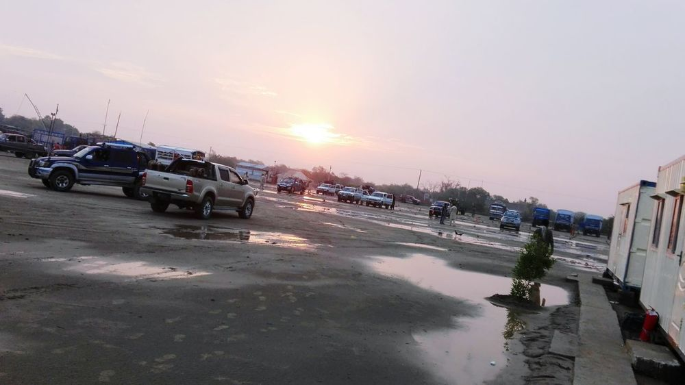Beautiful Sun Rise after rain Nawābshāh Pakistan First Eyeem Photo Sinopec Crew