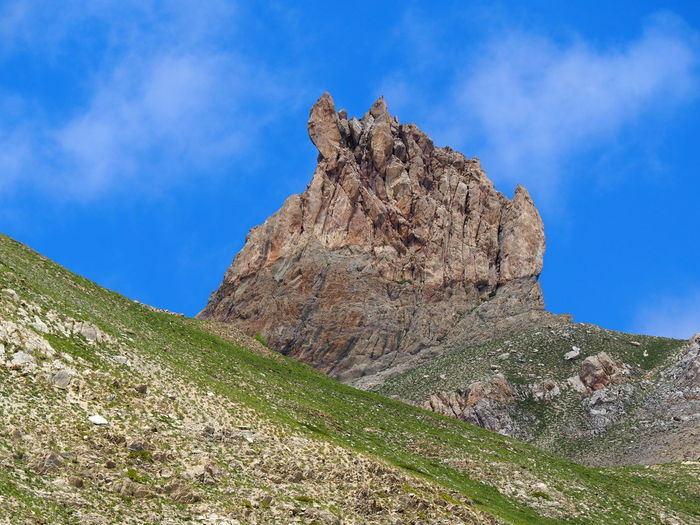 Dent de Ratier, en montant au col de Fontouse Queyras EyeEm Nature Lover Rock Beauty In Nature Nature Mountain Rock Formation Mountain Peak Eroded Landscape Environment