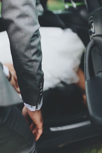 Real People Low Section Car Men Transportation Day Indoors  Close-up Human Hand Full Frame Details Fashion People Suitedman Suit Well Dressed Man Bottom Sew Fashion Photography Full Length Clothes Clothing Wedding Day Outdoors