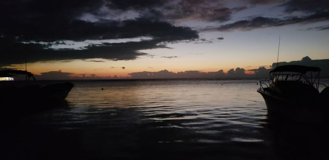 The Mobile Photographer - 2019 EyeEm Awards Astronomy Water Sea Sunset Storm Cloud Reflection Silhouette Galaxy Beach Dusk