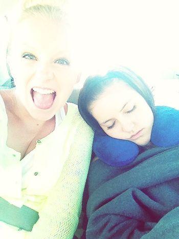 sleepy cousin!
