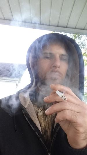Smokin Smoking Hoodie HOODIES Fall Selfi ThatsMe Hello World Hello Good Morning Good Morning World! Person Close-up Smoke