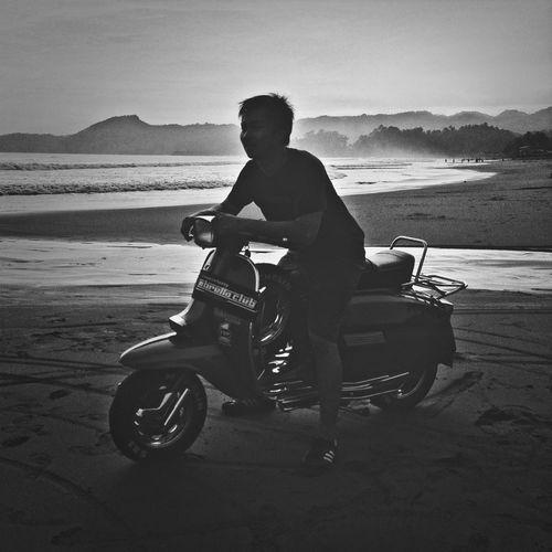 Blackandwhite Lambretta Hitamputih This Is Indonesia