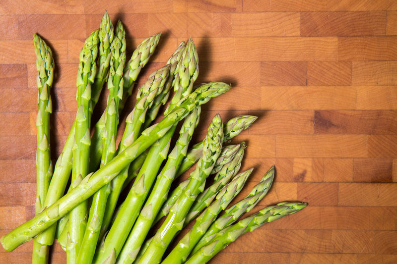 Food #foodphotography Asparagus Cooking Fresh Cutting Board Bright Green Color Freshness Directly Above Food And Drink