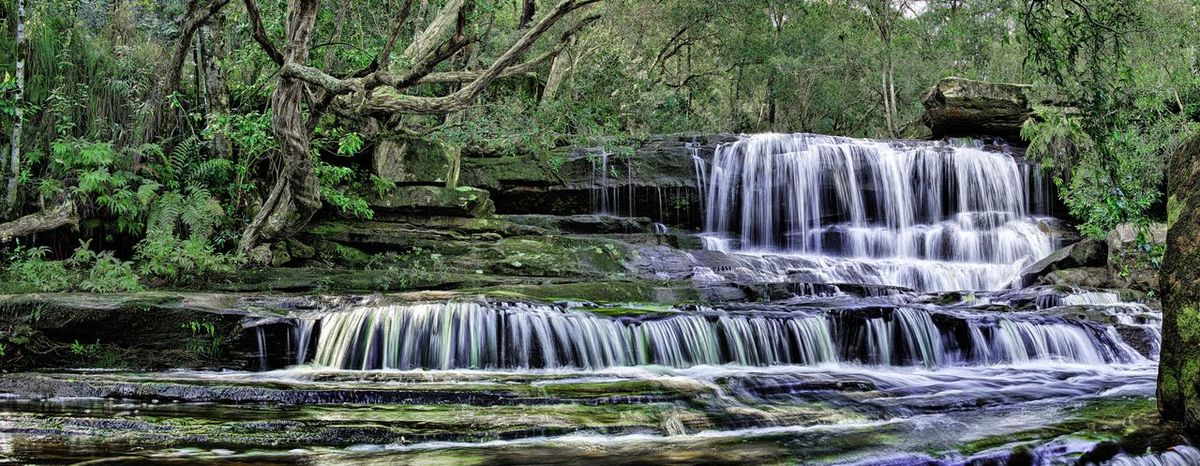 Panorama HDR Hdr_Collection HDR Collection Landscape Landscape_Collection Landscape_photography Somersby Falls Waterfall Waterfalls