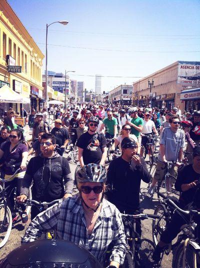 Cycling Bicycles CicLAVia