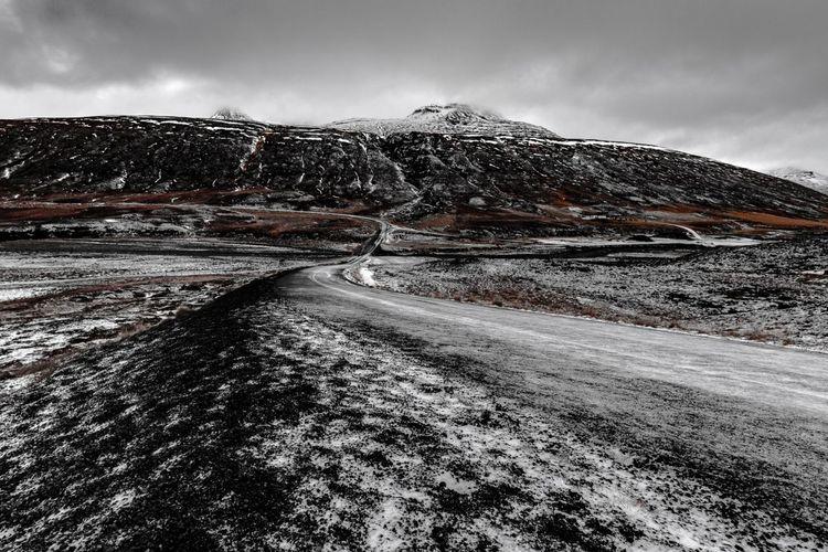 Near Akrahreppur, Norðurland, Iceland - 29.11.2016 Akrahreppur Iceland Island Landscape Nordurland