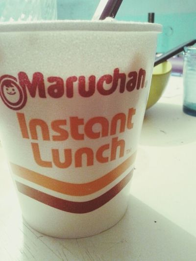 Maruchan  Lunch Time! Relaxinginstant lunch