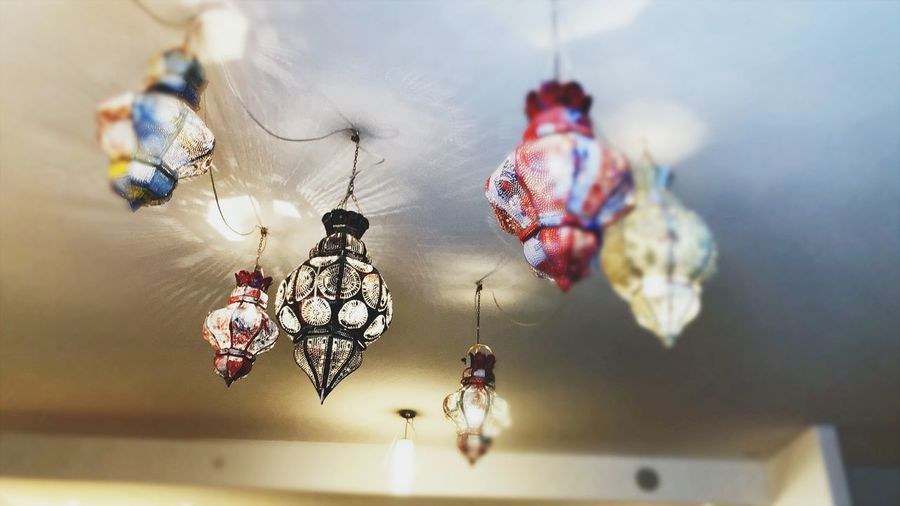 Lamps instead of Sun ☀️ Oriental Lampen Light Lamp Lamps EyeEm Selects Hanging Indoors  No People Close-up Day