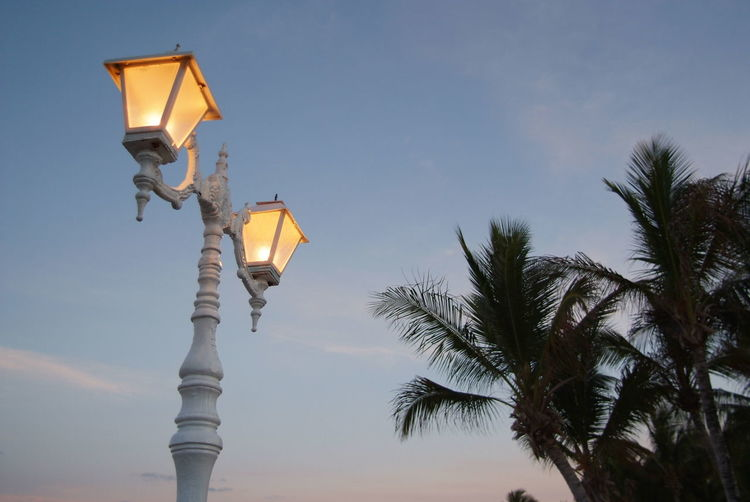 lamps sunset Beach Dusk Environmental Conservation Famous Place Guidance Horizon Over Water Large Group Of People Orange Color Outdoors Palm Tree Religion Safety Sand Sea Shore Silhouette Sky Sun Sunset Vacations