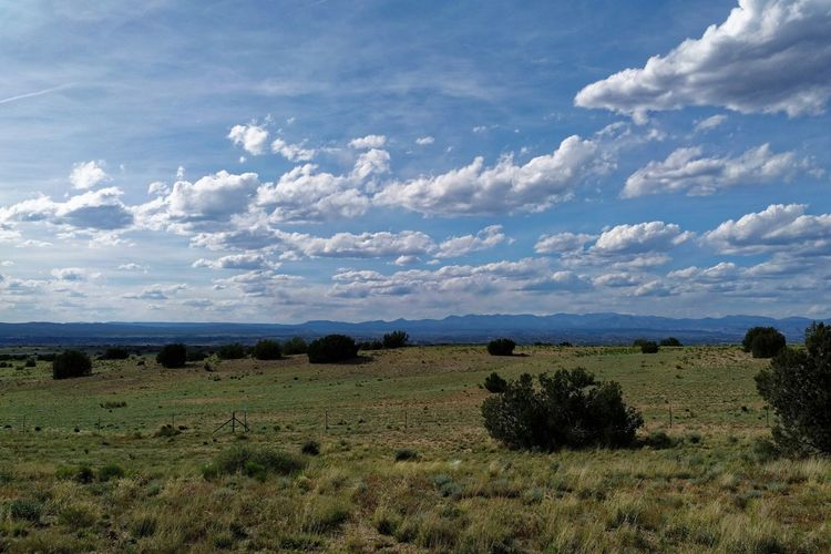 Mountain Range Santa Fe Plains Open Sky Environment Cloud - Sky Field Landscape Tranquil Scene Grass Tranquility Land My Best Photo