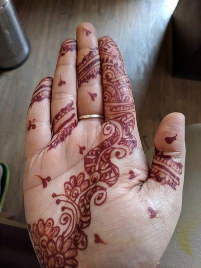 Close-up Henna