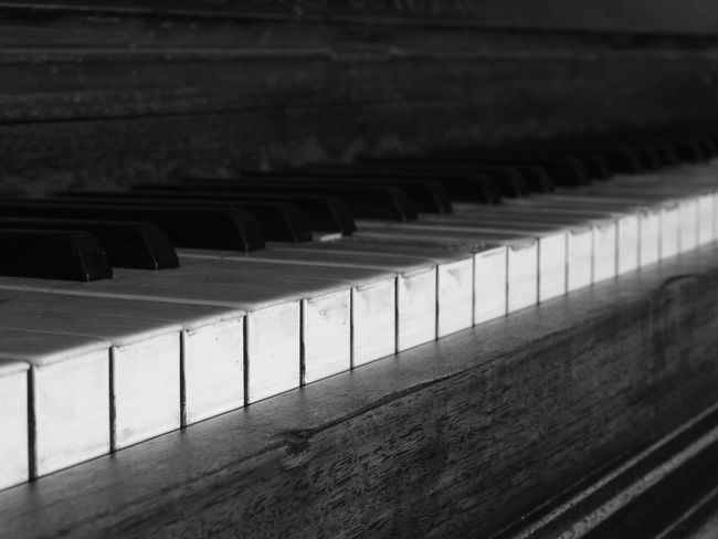 Old piano 1905 details Diagonal Lines Music Piano Black And White Blackandwhite Close-up Day Detail Indoors  Monochrome Musical Instrument No People Old Piano Pattern Piano Key Piano Keys Vintage