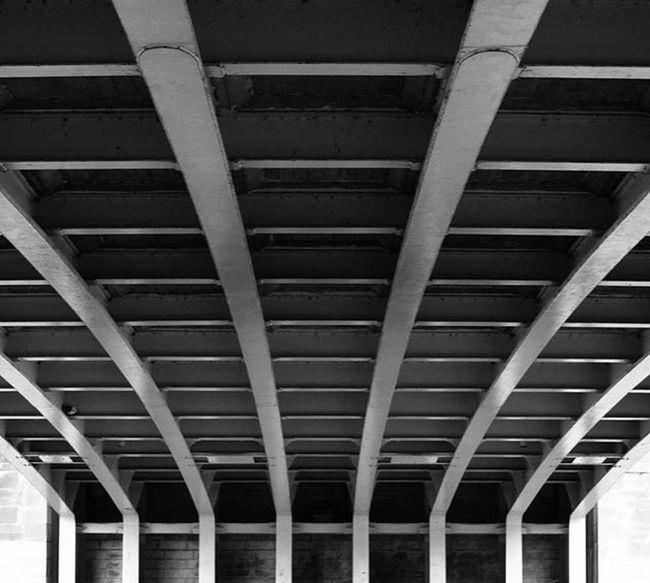 - Under the Bridge Tournai Hainaut Belgium Belgique Fleuve Architecture Archilovers Bridge Symetry Blackandwhite Bnw Nb  Noiretblanc Black White Gray Nikontop NikonD5200 Nikon Nikonphotography Lightandshadow Lightroom