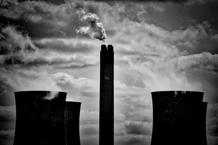 How Do You See Climate Change? Tower Smoke Industry Outdoors Electricity Tower Electricity  Concrete Coal Building Exterior Architecture Polution Is All Around The World Polution Poluted Earth How Do You See Climate Change Balancing Elements Shades Of Winter